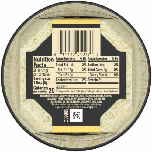 Private Selection™ Shredded Parmesan Cheese Perspective: bottom