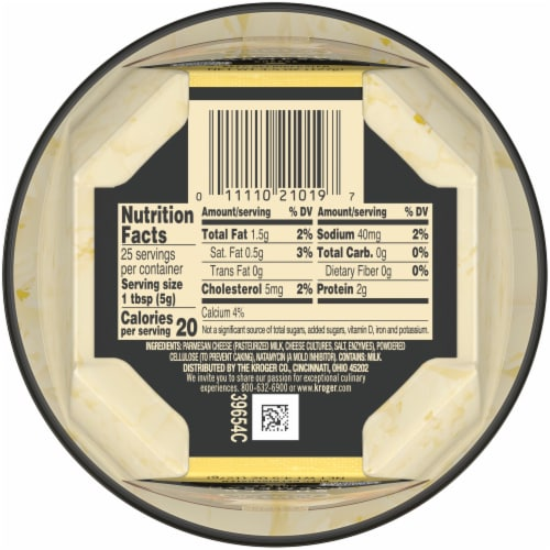 Private Selection™ Shaved Parmesan Cheese Perspective: bottom