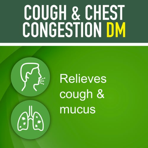 Kroger® Tussin DM Non-Drowsy Cough Suppressant & Expectorant Perspective: bottom