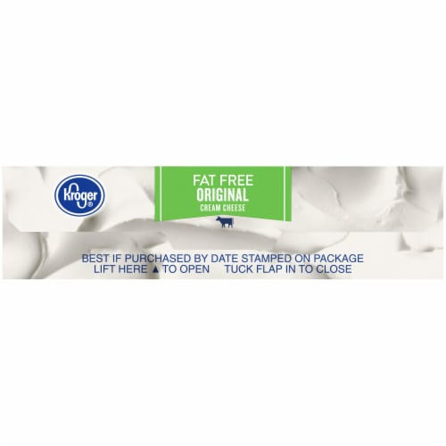 Kroger® Fat Free Original Cream Cheese Perspective: bottom