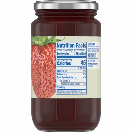 Kroger® Strawberry Preserves Perspective: bottom