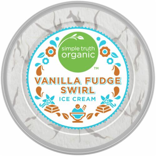 Simple Truth Organic™ Vanilla Fudge Swirl Ice Cream Perspective: bottom