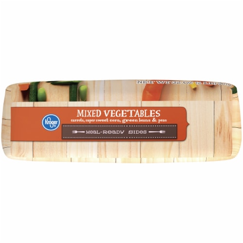 Kroger® Meal-Ready Sides Mixed Vegetables Perspective: bottom