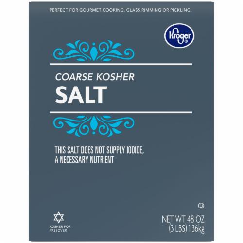 Kroger® Coarse Kosher Salt Perspective: bottom