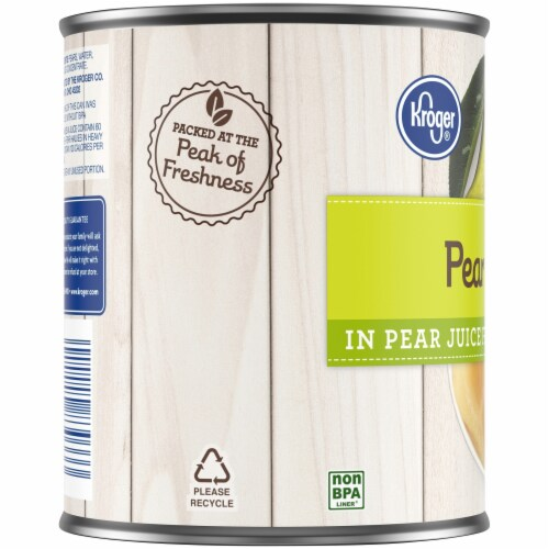 Kroger® Pear Halves in Pear Juice from Concentrate Perspective: bottom