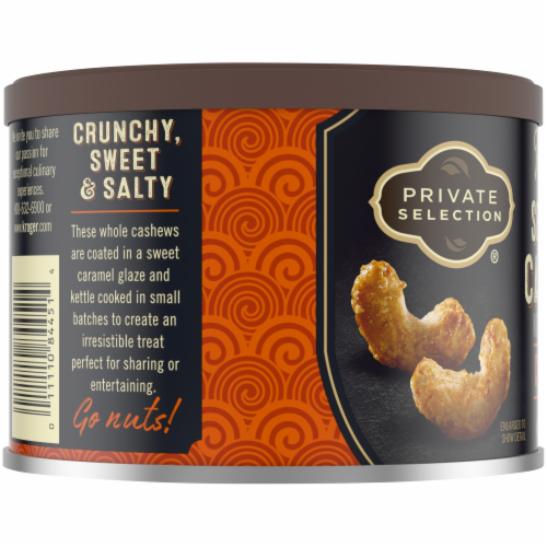 Private Selection® Kettle Cooked Sea Salt Caramel Cashews Perspective: bottom