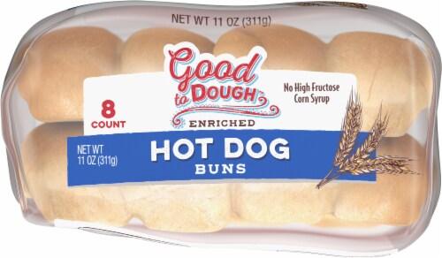 Good to Dough™ Hot Dog Buns Perspective: bottom