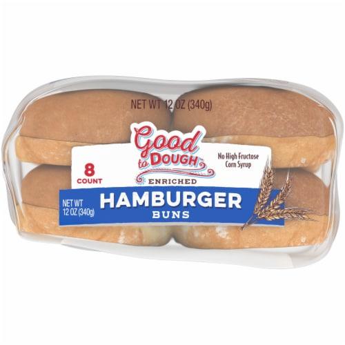 Good to Dough™ Hamburger Buns Perspective: bottom
