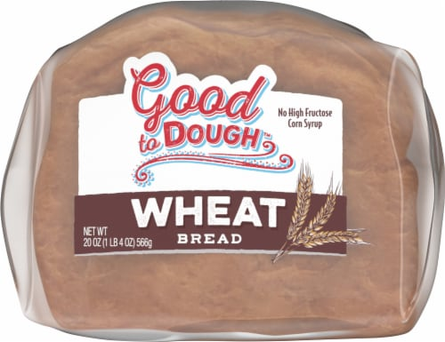 Good to Dough™ Wheat Bread Perspective: bottom