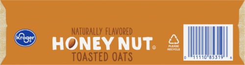 Kroger® Honey Nut Toasted Oats Cereal Perspective: bottom