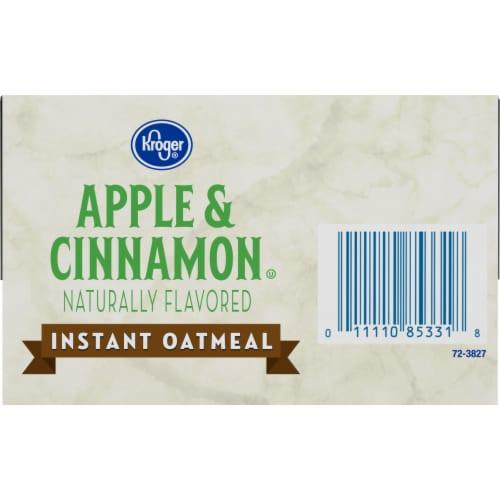Kroger® Apples & Cinnamon Instant Oatmeal Perspective: bottom