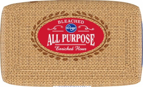 Kroger® Bleached All Purpose Enriched Flour Perspective: bottom