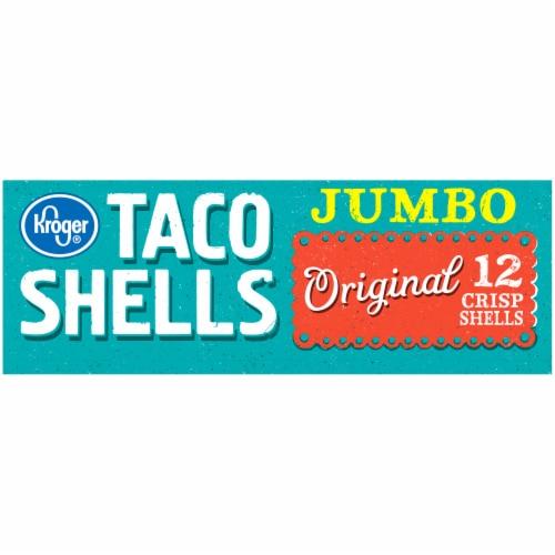 Kroger® Jumbo Original Taco Shells Perspective: bottom