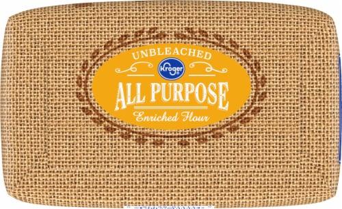Kroger® Unbleached All Purpose Enriched Flour Perspective: bottom