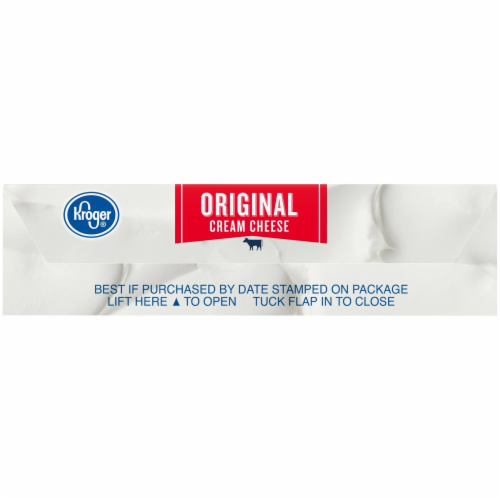 Kroger® Original Cream Cheese Perspective: bottom