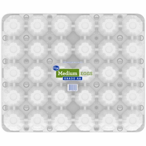 Kroger® Grade AA Medium Eggs Perspective: bottom