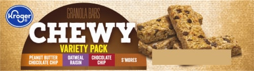 Kroger® Chewy Granola Bars Variety Pack Perspective: bottom