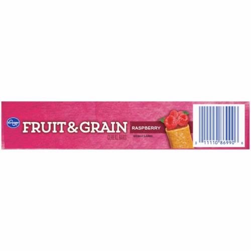 Kroger® Fruit & Grain Raspberry Cereal Bars Perspective: bottom