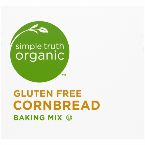 Simple Truth Organic™ Gluten Free Cornbread Baking Mix Perspective: bottom