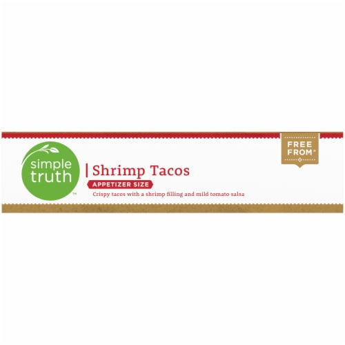 Simple Truth™ Appetizer Size Shrimp Tacos Perspective: bottom