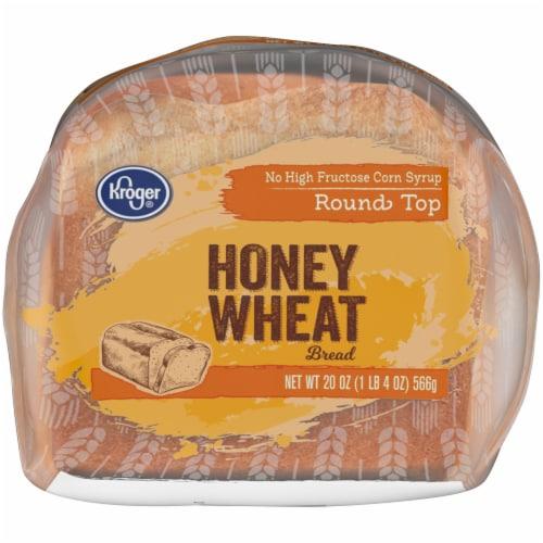 Kroger® Honey Wheat Bread Perspective: bottom