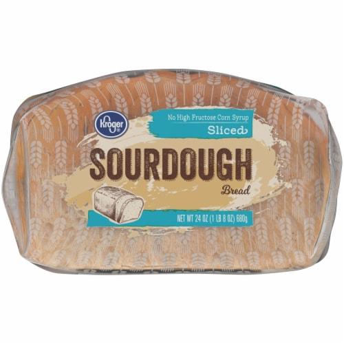 Kroger® Sliced Sourdough Bread Perspective: bottom