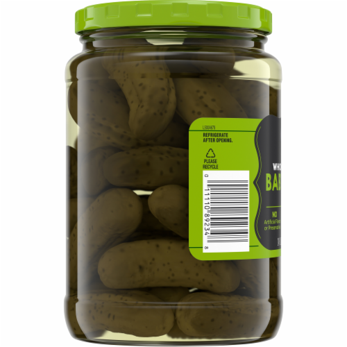 Kroger® Whole Kosher Baby Dill Pickles Perspective: bottom