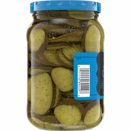 Kroger® Sweet Pickle Chips Perspective: bottom