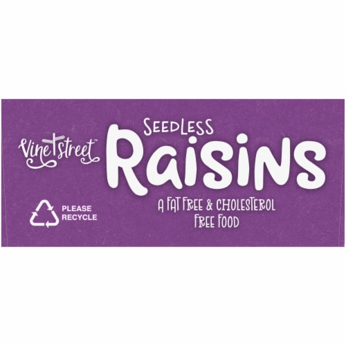 Vine Street Seedless Raisins Perspective: bottom