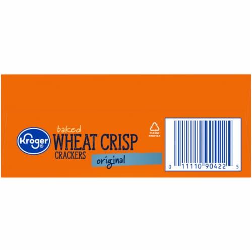 Kroger® Original Baked Wheat Crisp Crackers Perspective: bottom