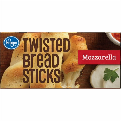 Kroger® Mozzarella Twisted Bread Sticks Perspective: bottom