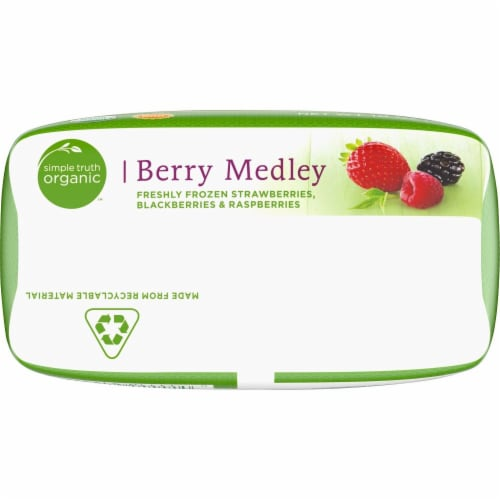 Simple Truth Organic™ Berry Medley Frozen Fruit Perspective: bottom