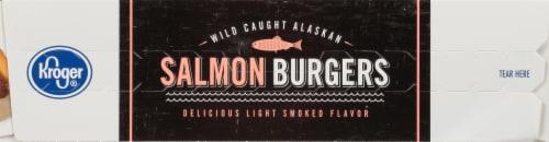 Kroger® Salmon Burgers Perspective: bottom
