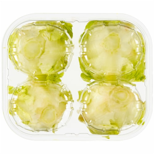 Private Selection® Little Gem Crisp & Buttery Lettuce Hearts Perspective: bottom