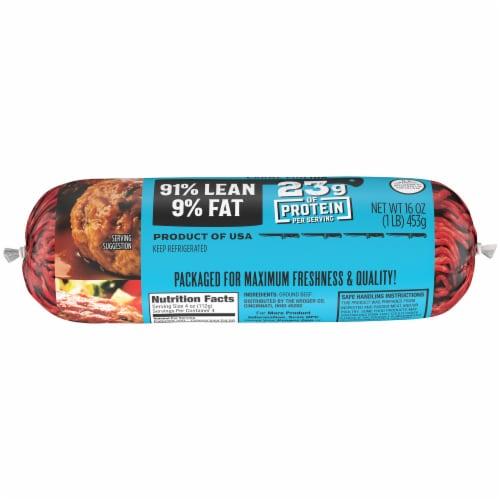 Kroger® 91% Lean Ground Beef Perspective: bottom