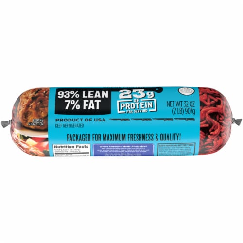 Kroger® 93% Lean Ground Beef Perspective: bottom