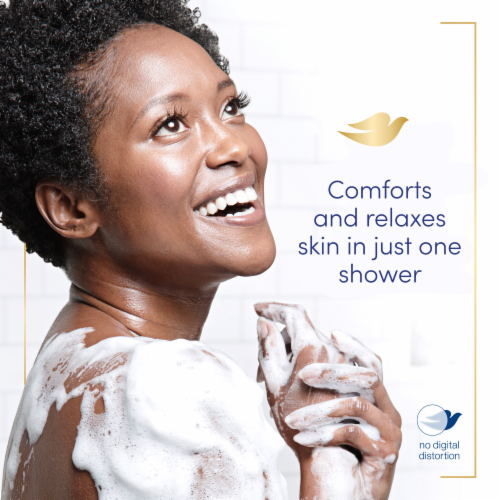 Dove Relaxing Lavender Body Wash Perspective: bottom