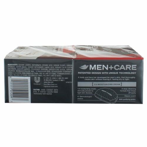 Dove Men + Care Deep Clean Body & Face Bar Perspective: bottom