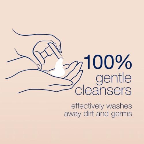 Dove Warm Vanilla and Sugar Cane Hand Wash Perspective: bottom