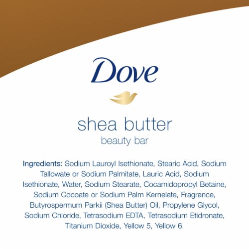 Dove Purely Pampering Warm Vanilla Shea Butter Beauty Bars Perspective: bottom