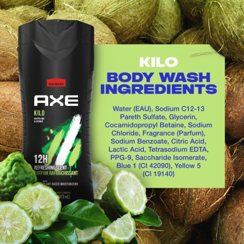 Axe Kilo Mandarin & Sandalwood Body Wash Perspective: bottom