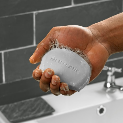 Dove Men+Care Clean Comfort Body + Face Bars Perspective: bottom