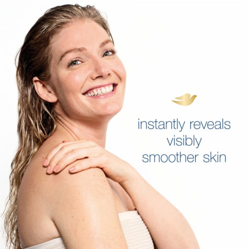 Dove Gentle Exfoliating Beauty Bars Perspective: bottom