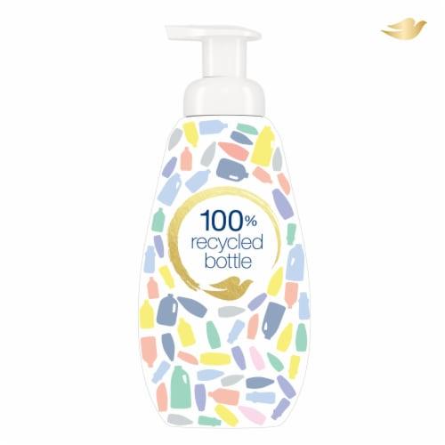 Dove Deep Moisture Instant Foaming Body Wash Pump Perspective: bottom