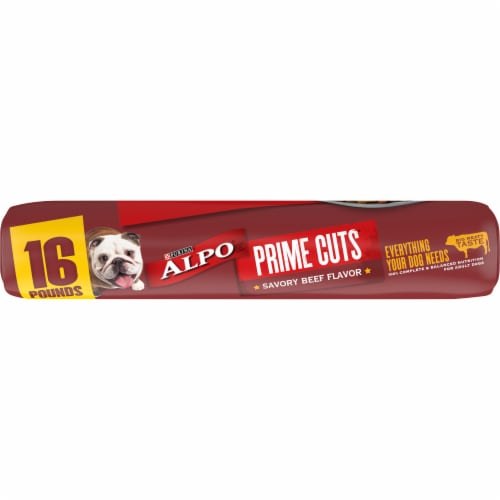 ALPO® Prime Cuts Savory Beef Flavor Dry Dog Food Perspective: bottom