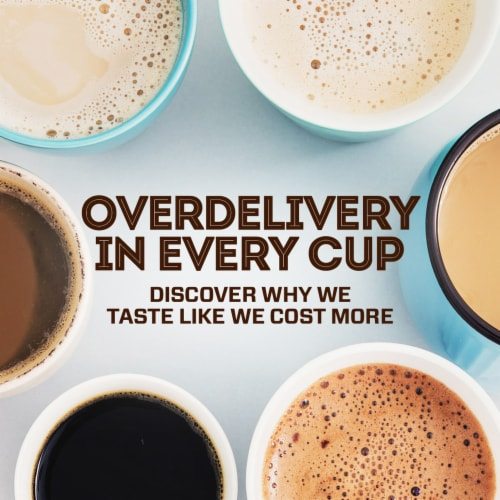 Eight O'Clock® 100% Colombian Peaks Medium Roast Ground Coffee Perspective: bottom