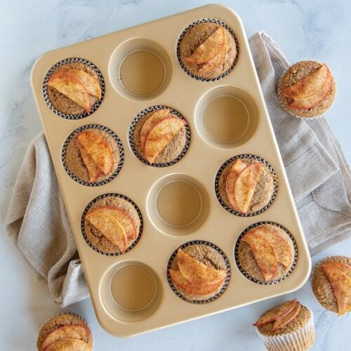 Nordic Ware Non-Stick Muffin Pan Perspective: bottom