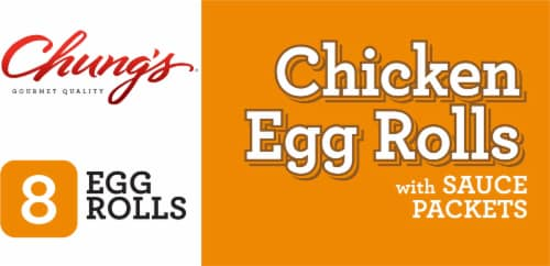 Chung's® Chicken Egg Rolls Perspective: bottom