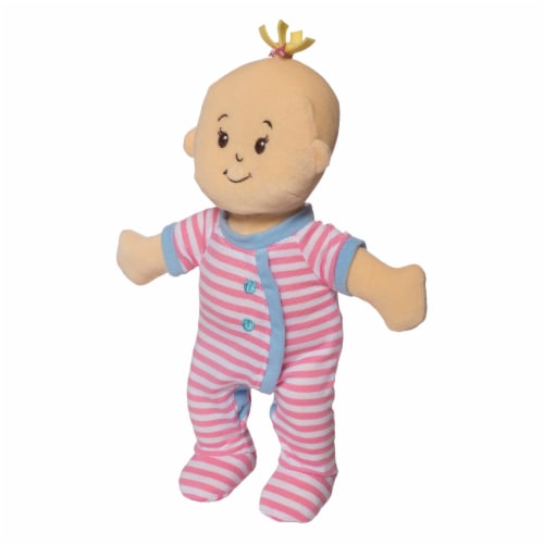 """Manhattan Toy Wee Baby Stella Sleepy Time Scents 12"""" Soft Baby Doll Set Perspective: bottom"""
