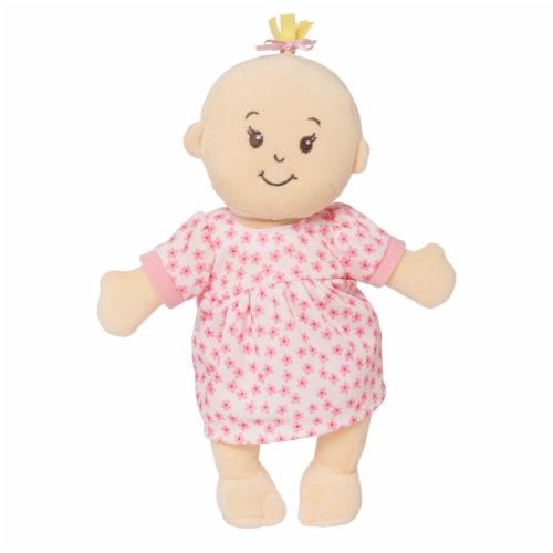 """Manhattan Toy Wee Baby Stella Peach 12"""" Soft Baby Doll Perspective: bottom"""